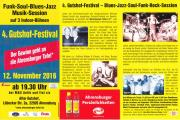 Flyer der Bluesnacht 2017